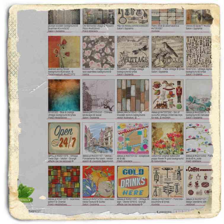 grafiki Vintage- deKEA