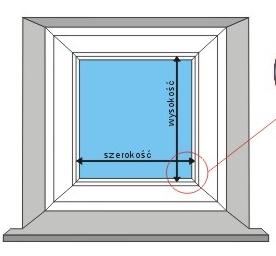 Fotorolety Kasetowe deKEA – instrukcja pomiaru okna