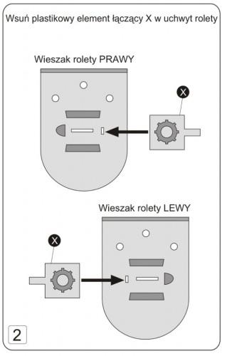 Montaż rolety klasycznej deKEA