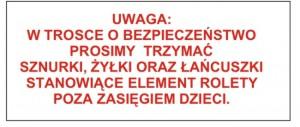 Montaż rolety klasycznej deKEA9