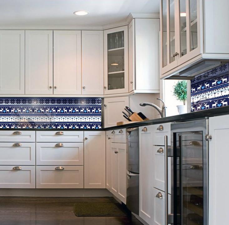 panele szklane do kuchni w klimacie skandynawskim