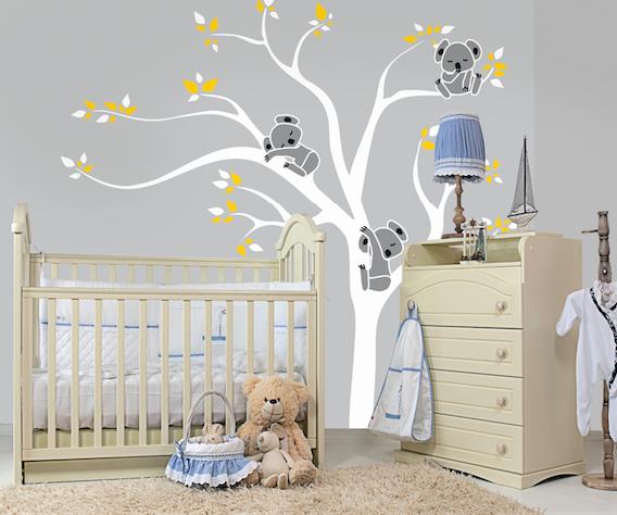 Tapeta ścianna deKEA zaprojektowana do pokoju dziecięcego