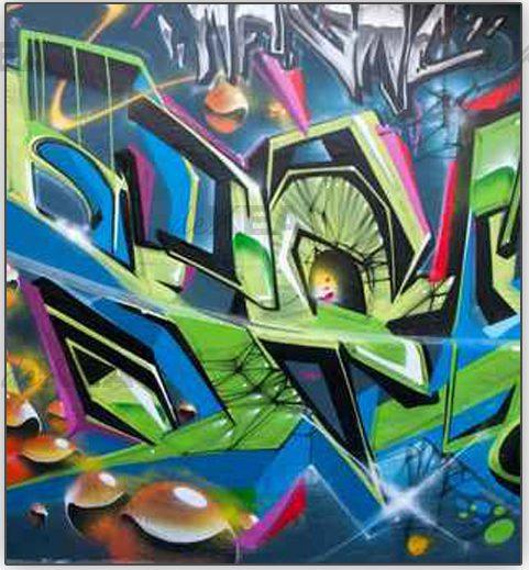 Rolety okienne grafitti deKEA