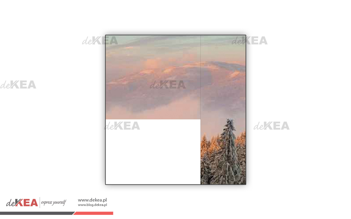 Fotoroleta deKEA  góry