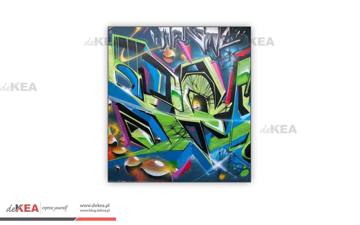 Rolety okienne, fotorolety deKEA graffiti