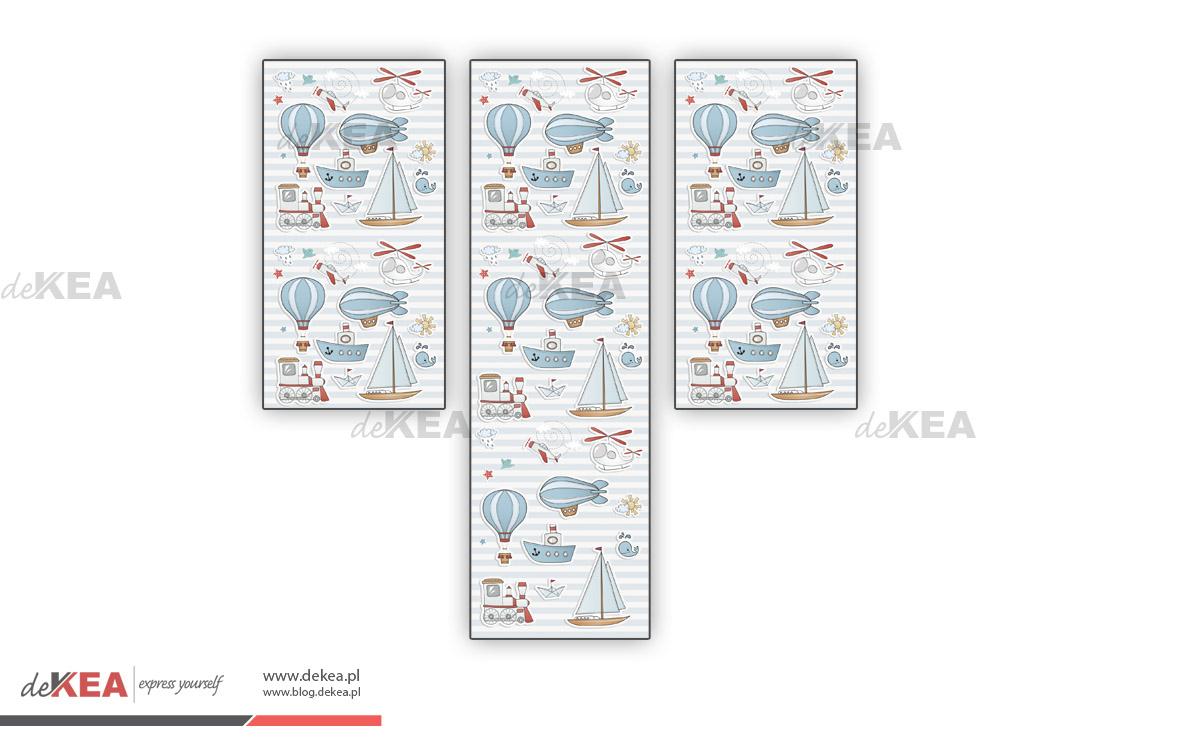 Rolety okienne, fotorolety deKEA do pokoju dziecięcego
