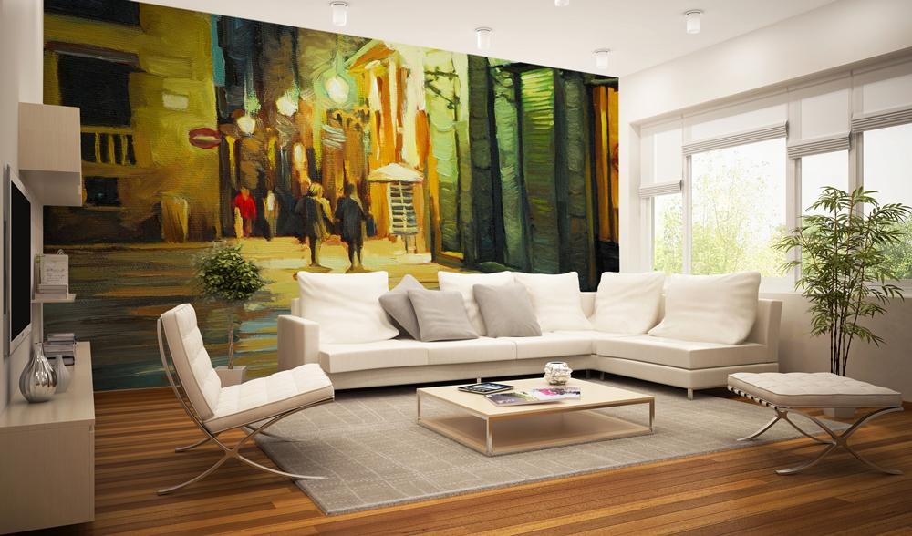 Tapeta deKEA - malowany obraz