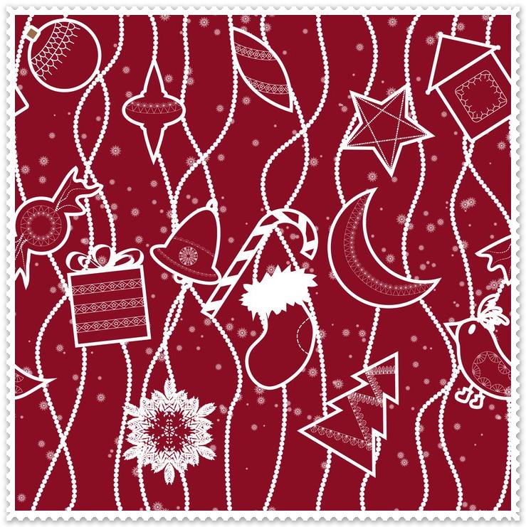 tkanina na boże narodzenie 15