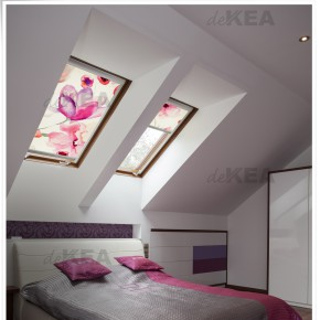 Rolety dachowe z pięknymi wzorami do okien Fakro, Velux, Roto, Okpol i innych
