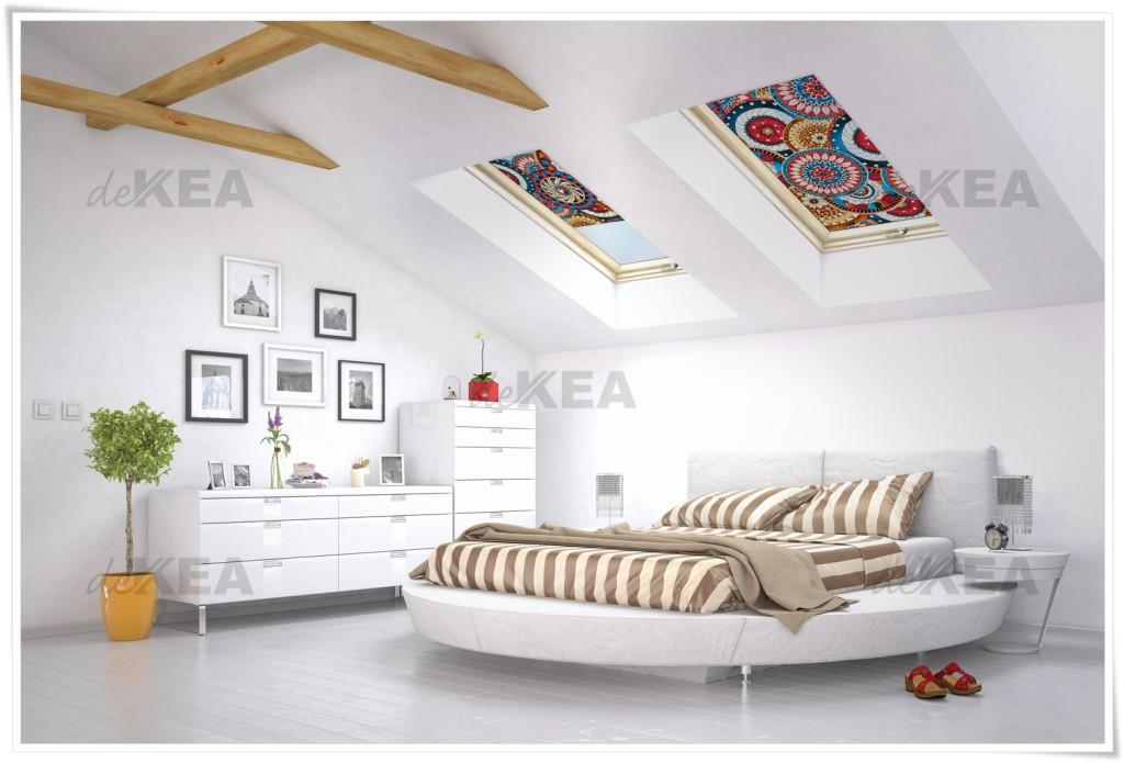 Rolety dachowe deKEA do salonu i sypialni