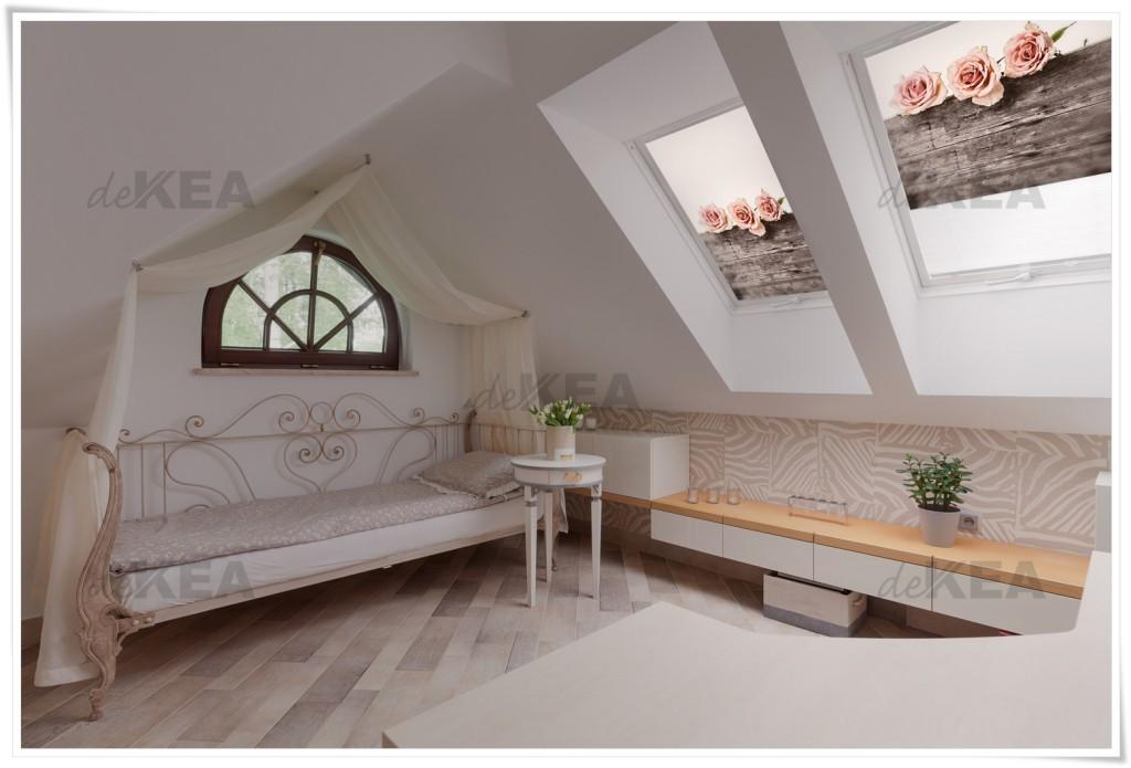 Rolety dachowe deKEA z pieknymi wzorami