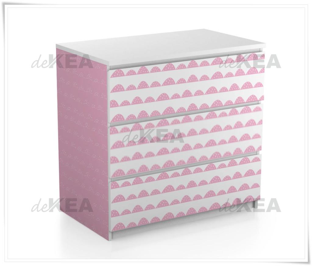 Naklejki na meble IKEA -realizacja deKEA