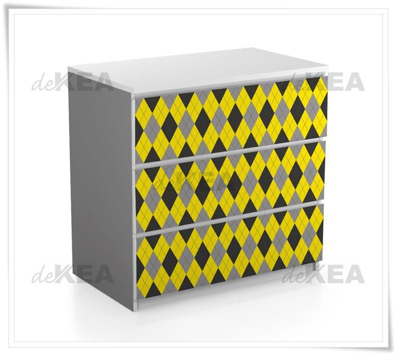 Dekoracyjne okleiny meblowe na meble IKEA