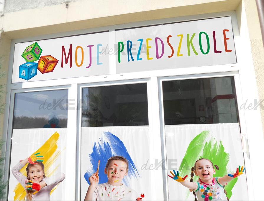 dekoracje okien -przedszkola- realizacja Dekea