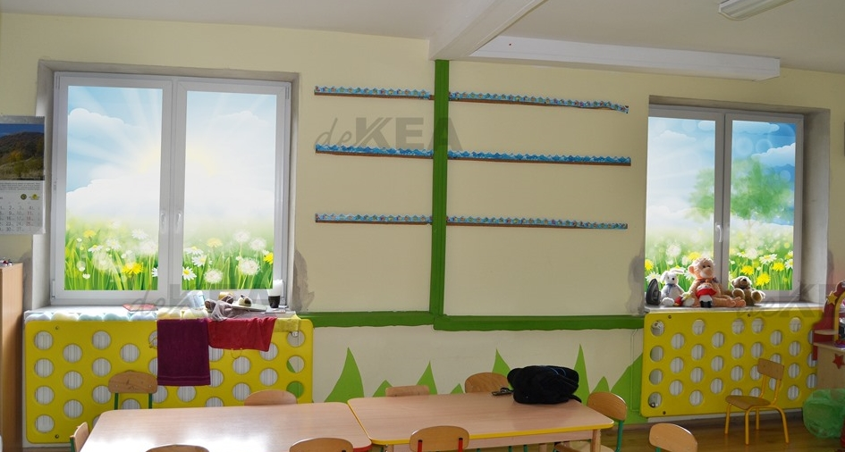Rolety okienne deKEA do przedszkola