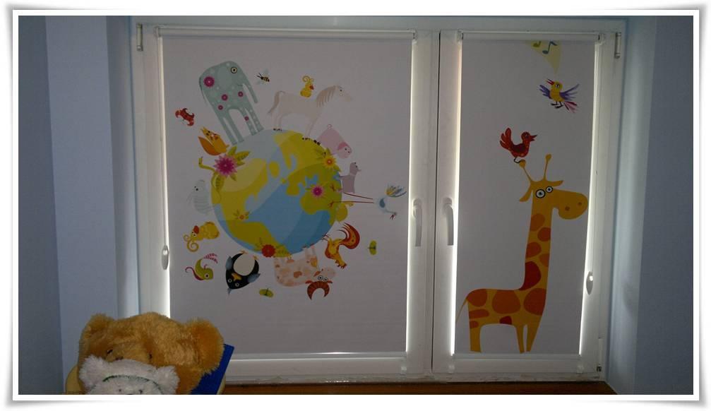 Rolety okienne do pokoju dziecka