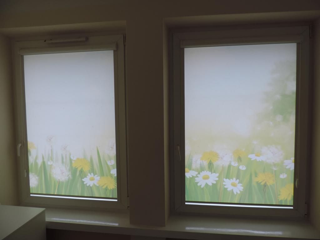rolety okienne z motywem dla dzieci