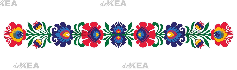 Panel szklany deKEA folk