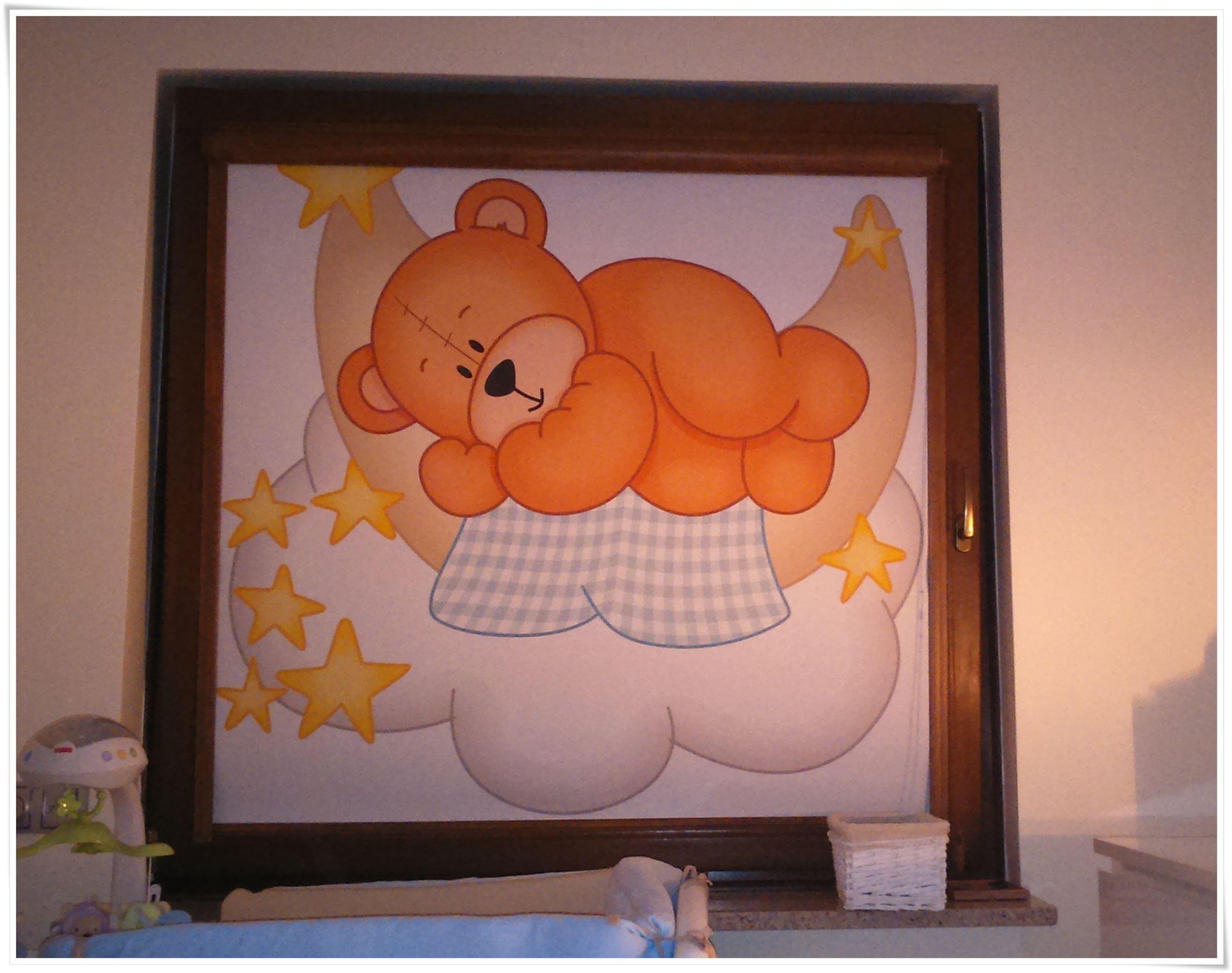 Roleta okienna do pokoju dziecka