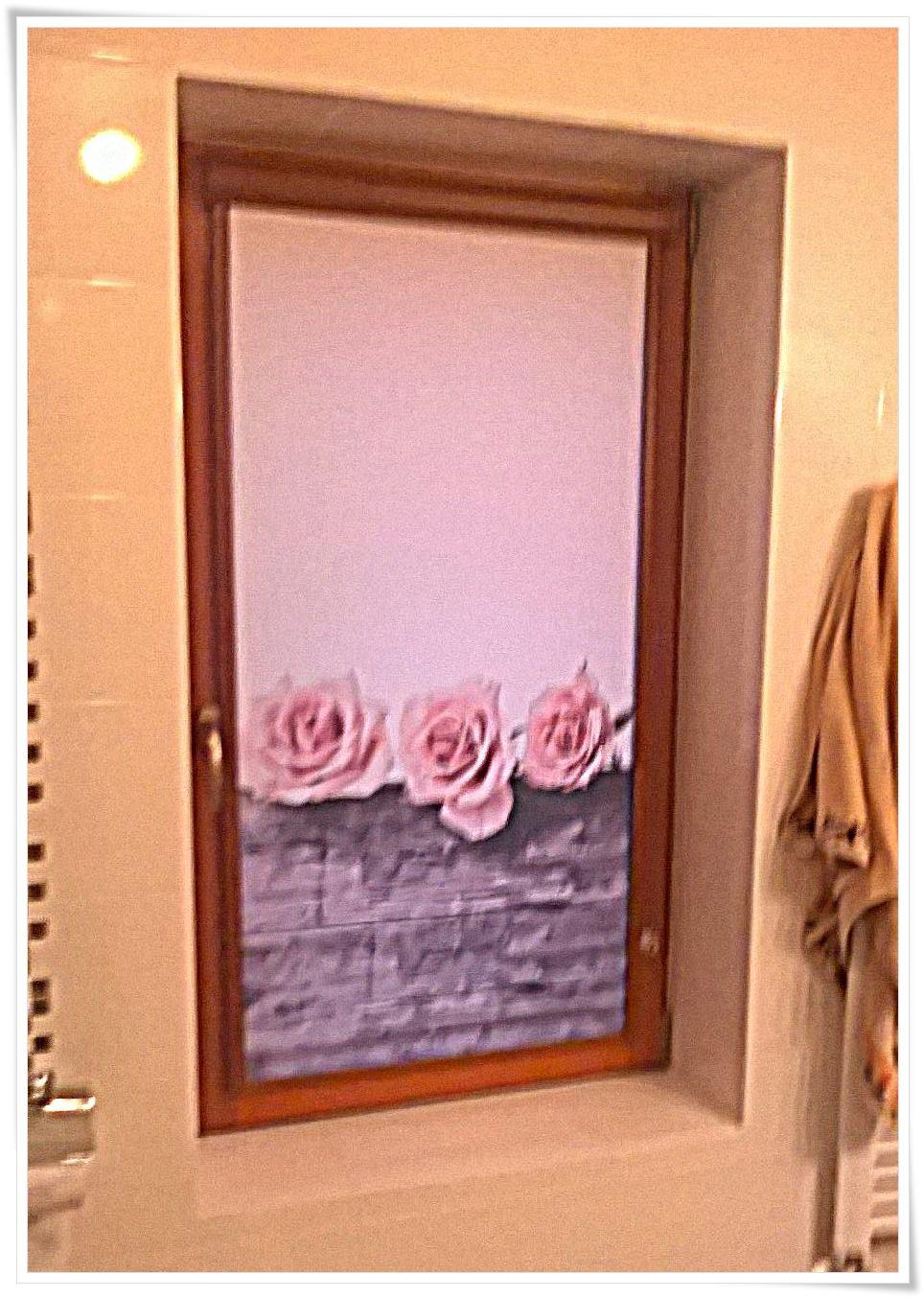 Roleta okienna do łazienki