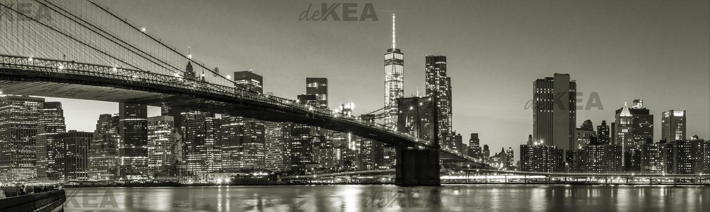 panele szklane deKEA_nowy york