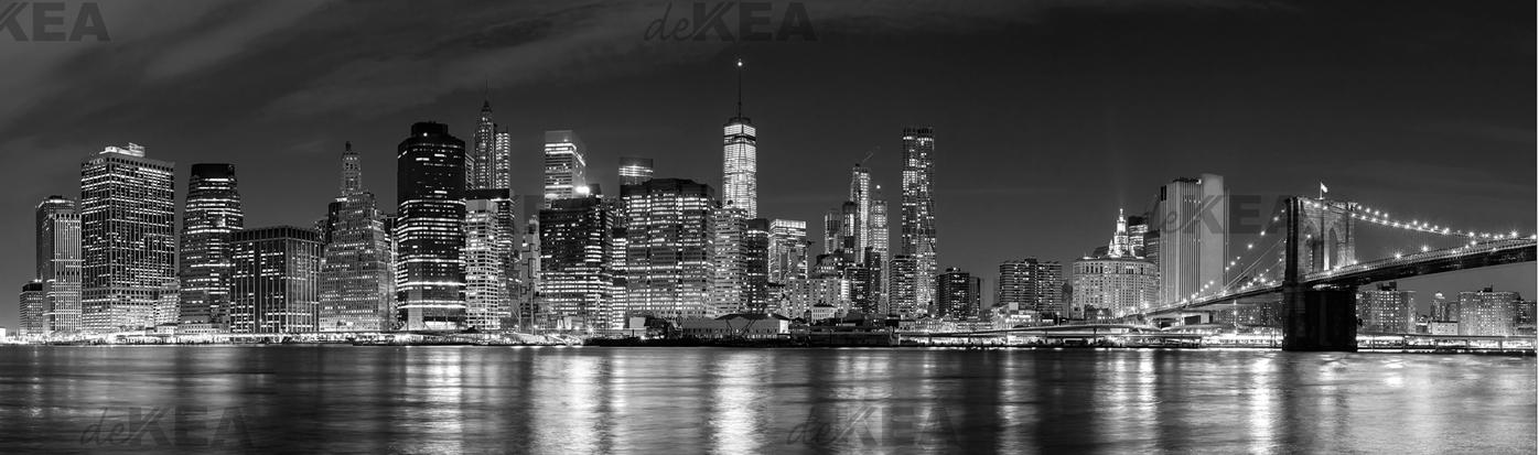 panele szklane deKEA_ Nowy York night
