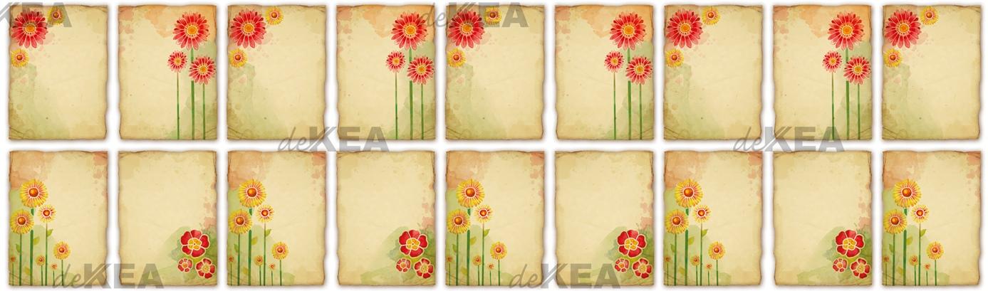 Panel szklany Dekea _kwiaty