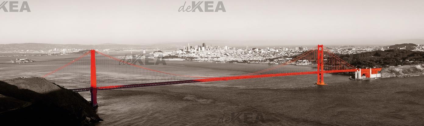 panele szklane deKEA _Golden Gate