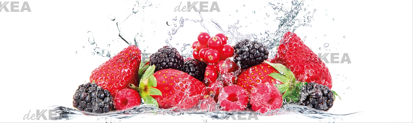 panele szklane deKEA_owoce