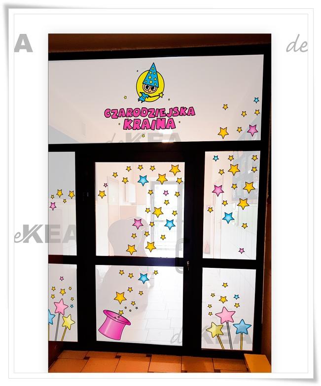 Folia na okna _dekoracja deKEA