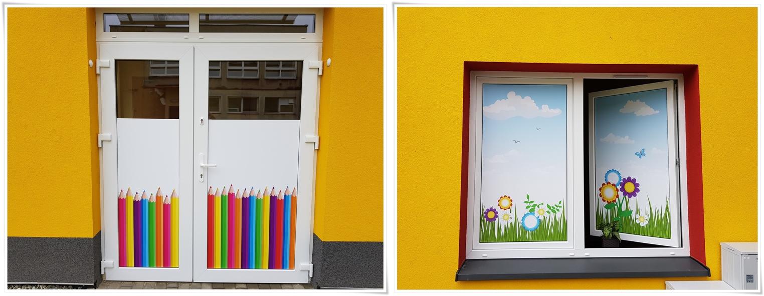 Folia okienna _dekoracja okna