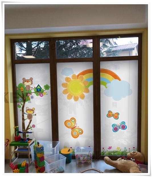 Folia okienna dekoracyjna na okna