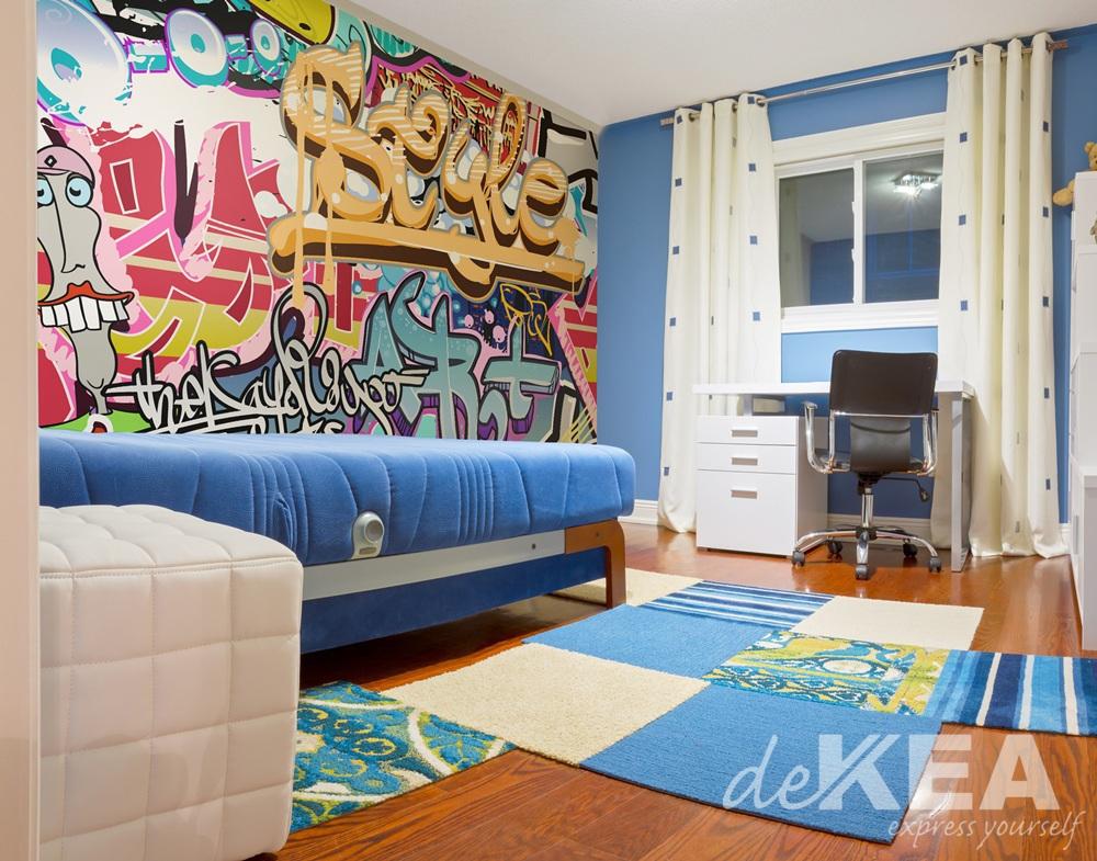 Tapeta Graffiti _Dekea
