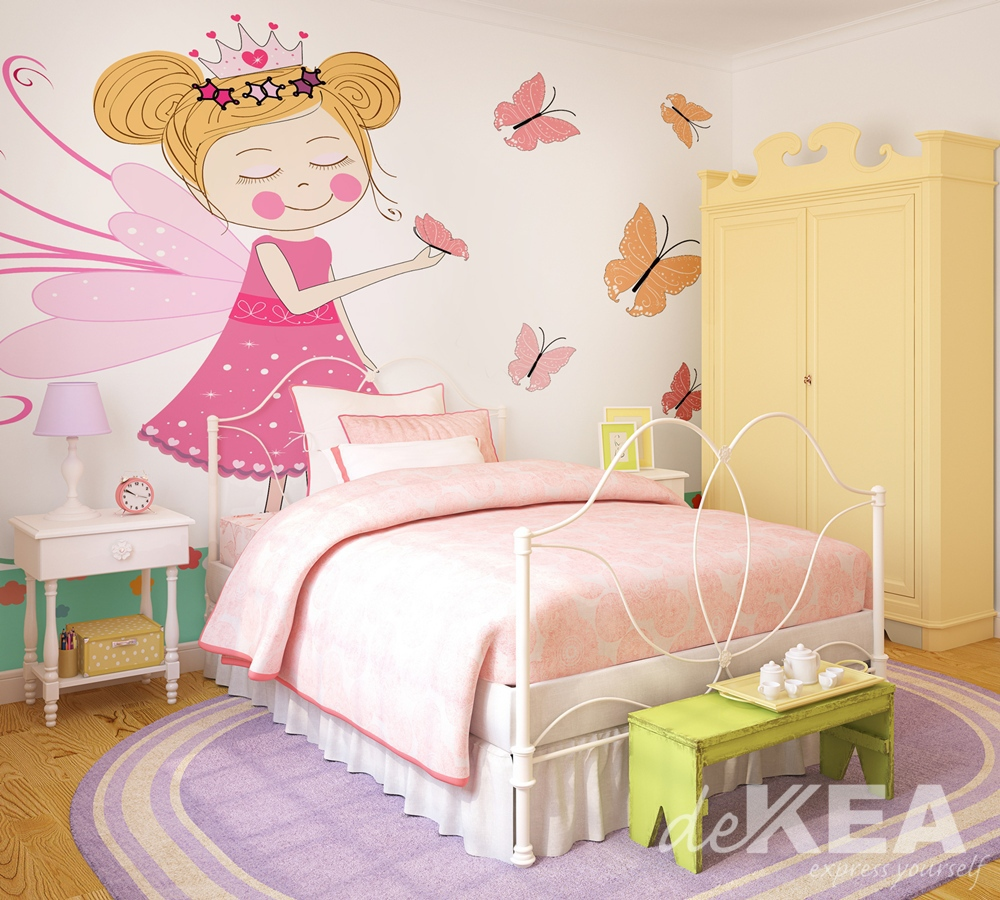 Tapeta Dekea do pokoju małej dziewczynki