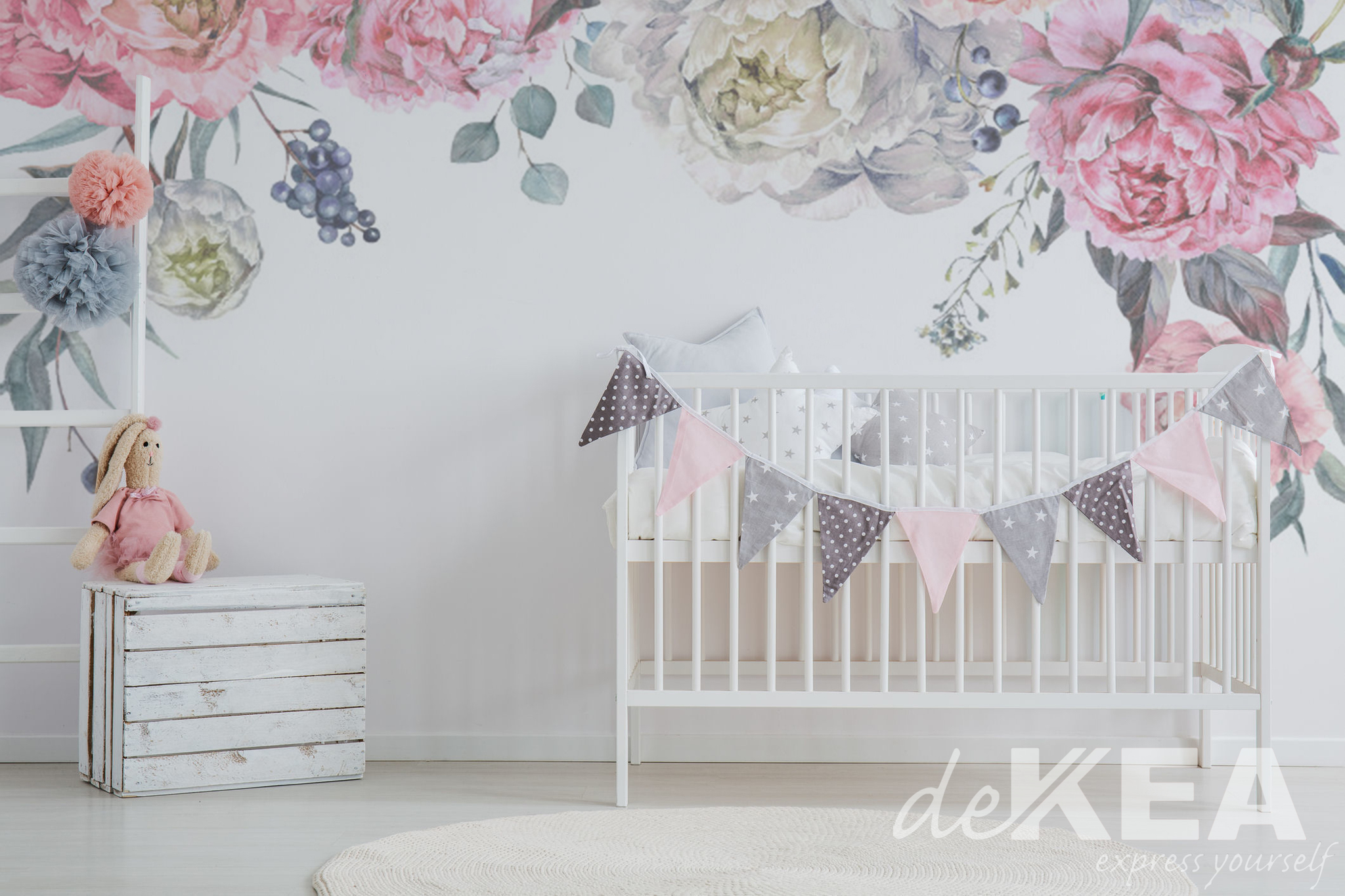 Fototapeta Dekea w pokoju małego dziecka