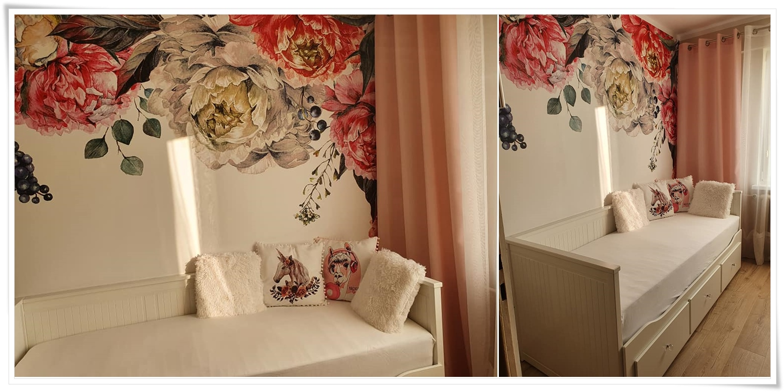 Fototapeta Dekea_pastelowe, malowane róże
