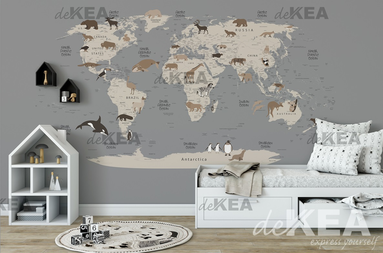 Fototapeta Dekea_mapa